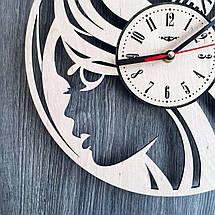 Стильные часы из дерева 7Arts в женский салон красоты CL-0190, фото 3