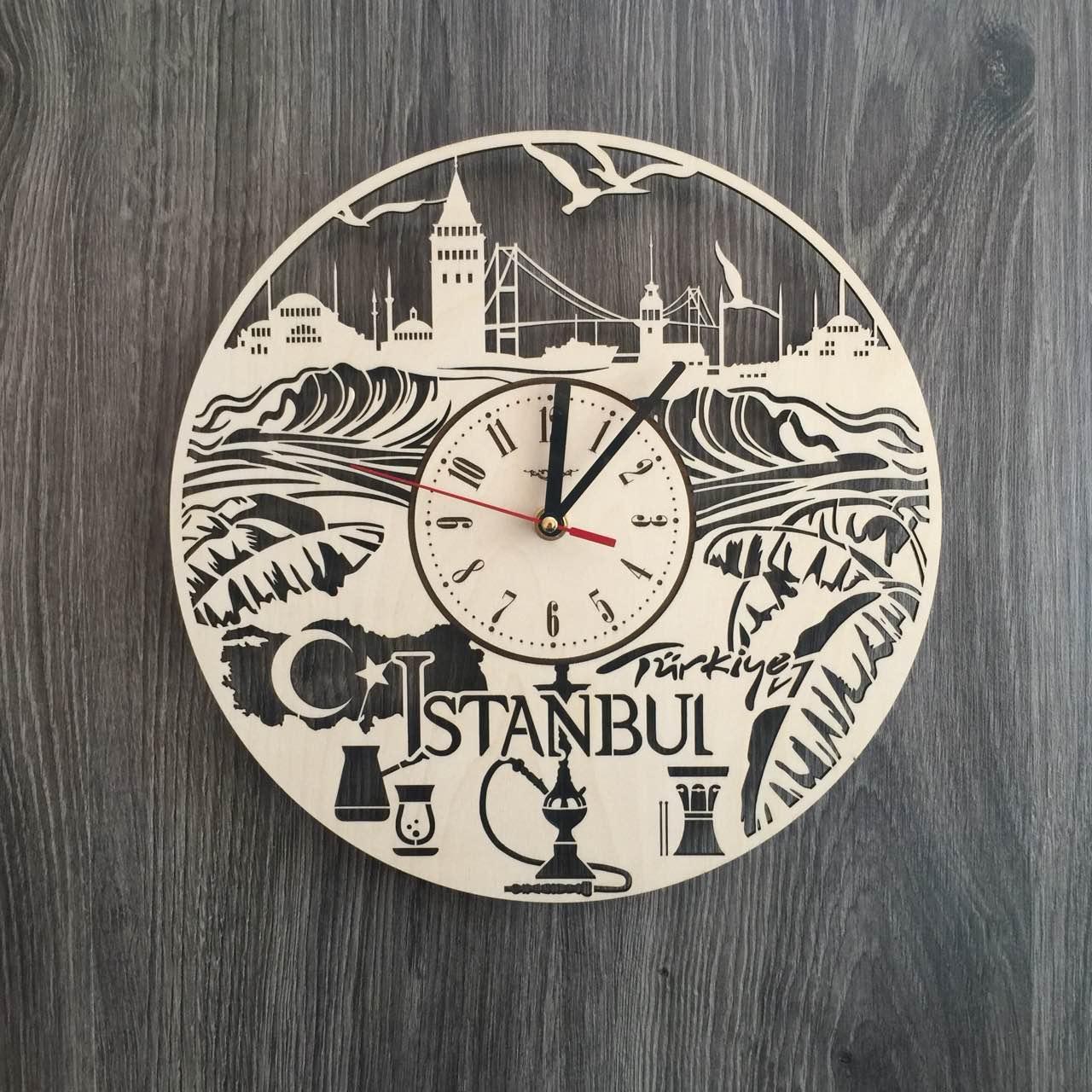 Інтер'єрні годинники на стіну 7Arts Стамбул, Туреччина CL-0201