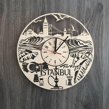 Інтер'єрні годинники на стіну 7Arts Стамбул, Туреччина CL-0201, фото 2