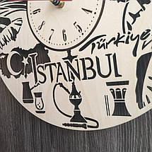 Інтер'єрні годинники на стіну 7Arts Стамбул, Туреччина CL-0201, фото 3