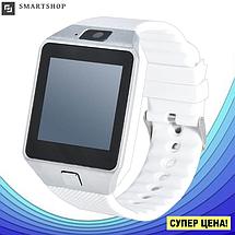 Умные часы Smart Watch DZ-09 White - смарт часы под SIM-карту и SD карту (Белые), фото 3
