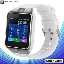 Умные часы Smart Watch DZ-09 White - смарт часы под SIM-карту и SD карту (Белые), фото 2