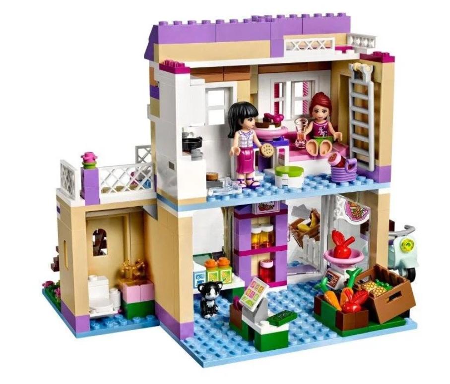 """Конструктор Bela 10495 (Аналог Lego Friends 41108) """"Овощной рынок в Хартлейке"""" 389 деталей"""