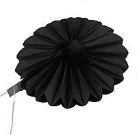 Веерный круг (20см) чёрный