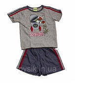 Детская пижама для мальчика CORNETTE  в подарочной упаковке 98-116 см