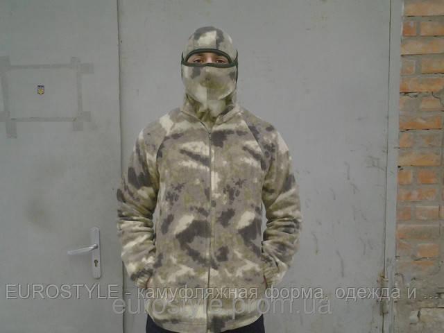 Флисовая кофта (куртка) камуфляж