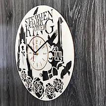 Круглые настенные часы из дерева Тёмная башня CL-0238, фото 2