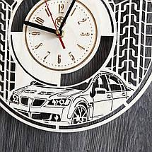 Стильные часы из дерева настенные BMW CL-0246, фото 3