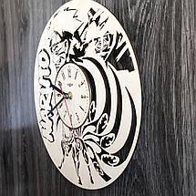 Деревянные настенные часы Наруто CL-0262, фото 2