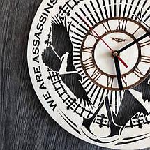 Тематические интерьерные настенные часы Кредо убийцы CL-0289, фото 2