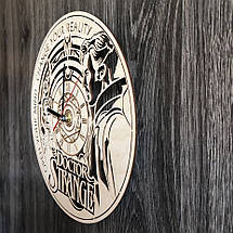 Настенные часы из дерева в интерьер Доктор Стрэндж CL-0293, фото 2