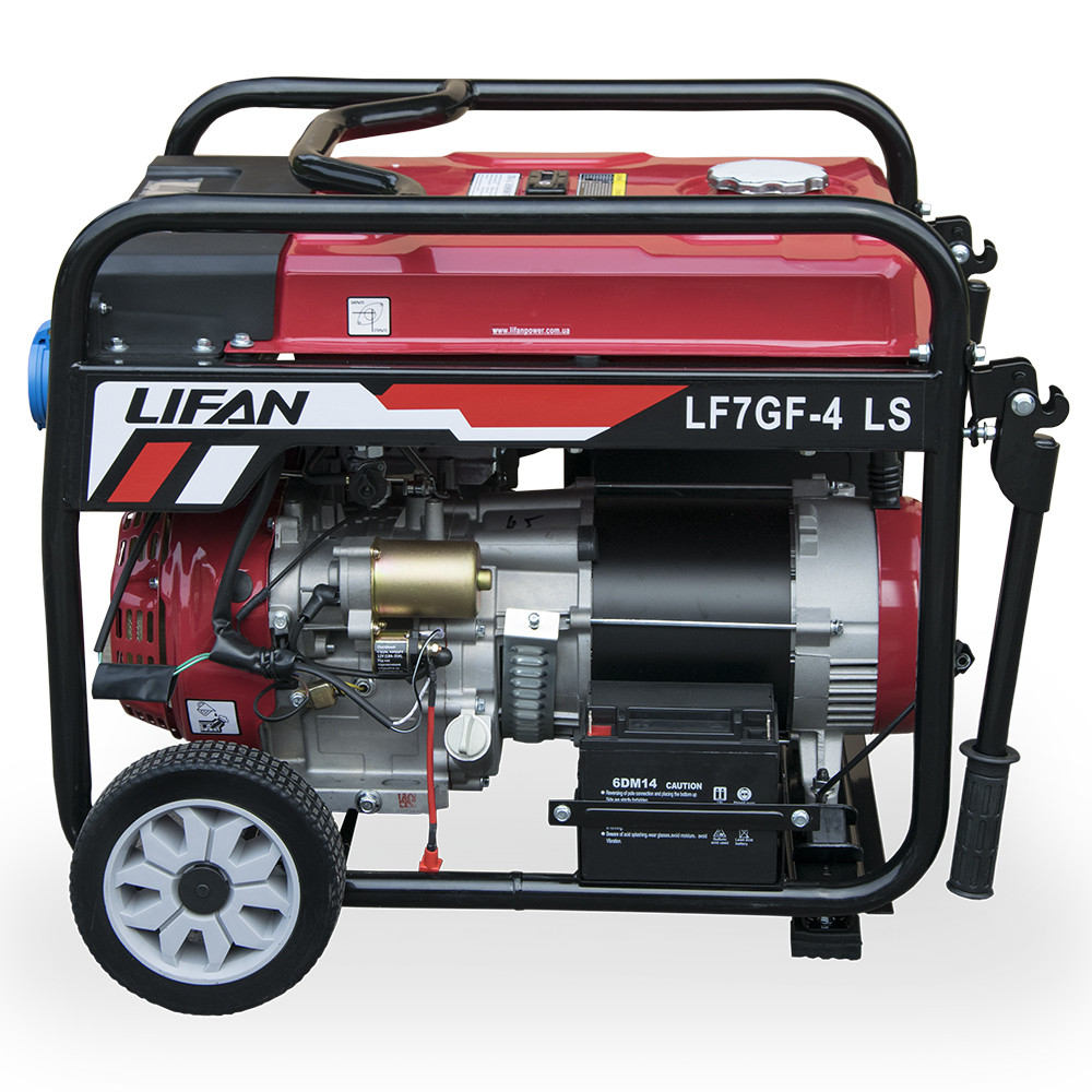 Генератор Lifan LF7GF-4LS (газ/бензин)