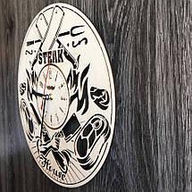 Тематичні настінні годинники з дерева Steak House CL-0299, фото 2