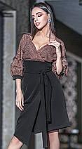 Женское платье миди с глубоким декольте 42-48 р Ванесса, женские нарядные платья оптом от производителя, фото 2