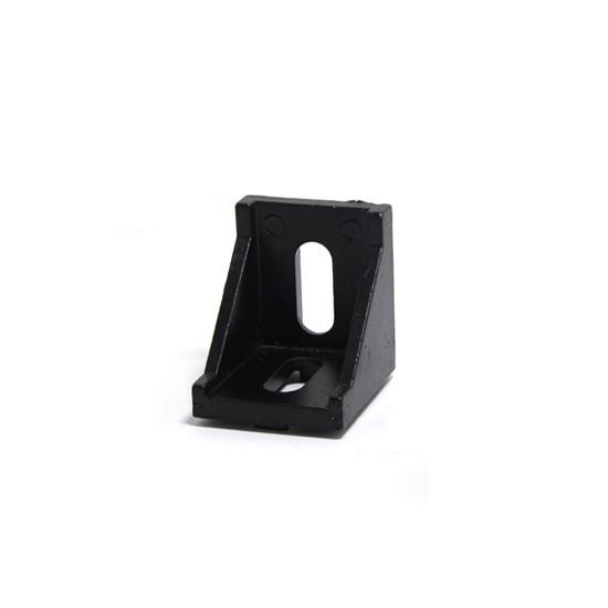 Кутовий з'єднувач 2835 чорний (угловой соединитель 30x30)
