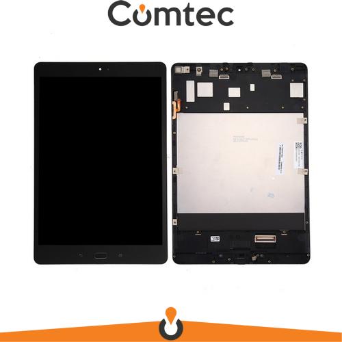 Дисплей для Asus ZenPad 3S 10 Z500M с тачскрином (Модуль) черный, с передней панелью (рамкой)