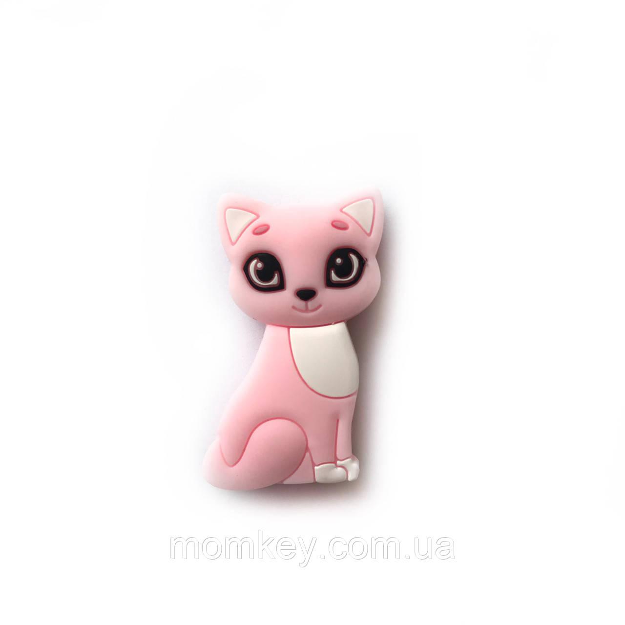 Мини котёнок (розовый-кварц)