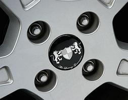 Эмблемы на колесные диски Luxury (диаметр 60мм)