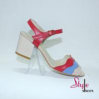 Туфли босоножки женские на высоком каблуке