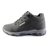 Ботинки зимние подростковые SAV 39 NQ1 99947 Black Gray, фото 1