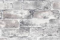 Бумажные обои моющиеся Шарм 114-02 Лофт обои серые 0.53х10.05 м (106311)