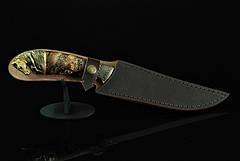 """Авторський колекційний ніж з бивнів мамонта """"Sincerity"""", дамаск, фото 2"""