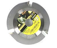 Универсальный пильный диск по дереву для УШМ 125х22.2х3мм GRAFF