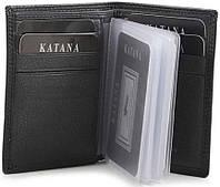Візитниця гаманець BROWN Katana 753038/03