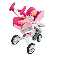 Трехколесная коляска для кукол Maxi-Cosi 4 в 1 550389 ТМ: Smoby
