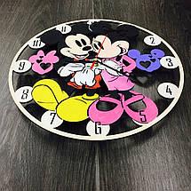 Детские настенные часы 7Arts Микки Маус цветные CL-0069, фото 2