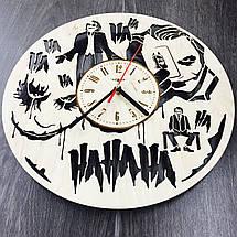 Часы настенные круглые с дизайнерским циферблатом 7Arts Джокер CL-0096, фото 2