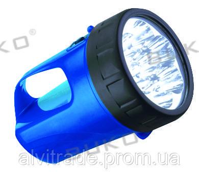 Фонарь аккумуляторный на светодиодах BUKO BK 298 7LED*0,5W 6V 4,5Ah (5 часов)