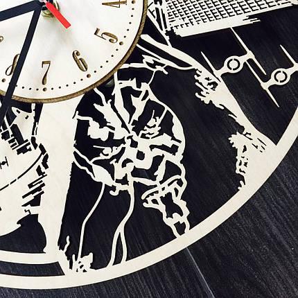 Дерев'яні годинник ручної роботи 7Arts Зоряні Війни CL-0126, фото 2