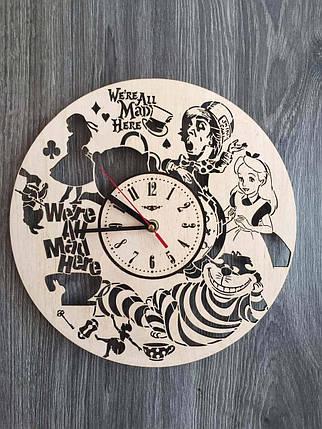 Дизайнерские настенные часы 7Arts Алиса в Стране чудес CL-0129, фото 2