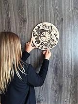 Дизайнерские настенные часы 7Arts Алиса в Стране чудес CL-0129, фото 3