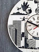 Настенные деревянные часы 7Arts Годзилла CL-0142, фото 2