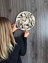 Настенные деревянные часы 7Arts Годзилла CL-0142, фото 3