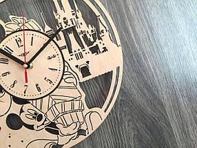 Детские декоративные часы на стену 7Arts Микки и Минни Маус CL-0152, фото 2