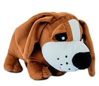 Мягкая игрушка Собачка бассет, 16 см, Тигрес