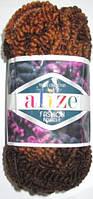 Пряжа Alize Fashion, коричневый меланж