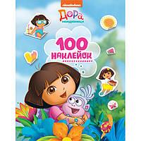 Наклейки детские Перо Dora the explorer 100шт 121207
