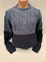 Классический шерстяной мужской свитер