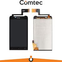 Дисплей для HTC T320e ONE V G24 с тачскрином (Модуль) черный