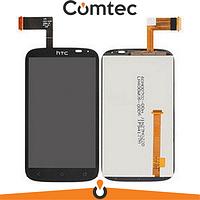 Дисплей для HTC T328w Desire V с тачскрином (Модуль) черный