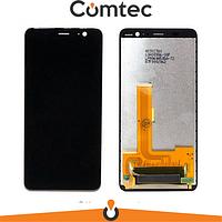 Дисплей для HTC U11 Plus с тачскрином (Модуль) черный