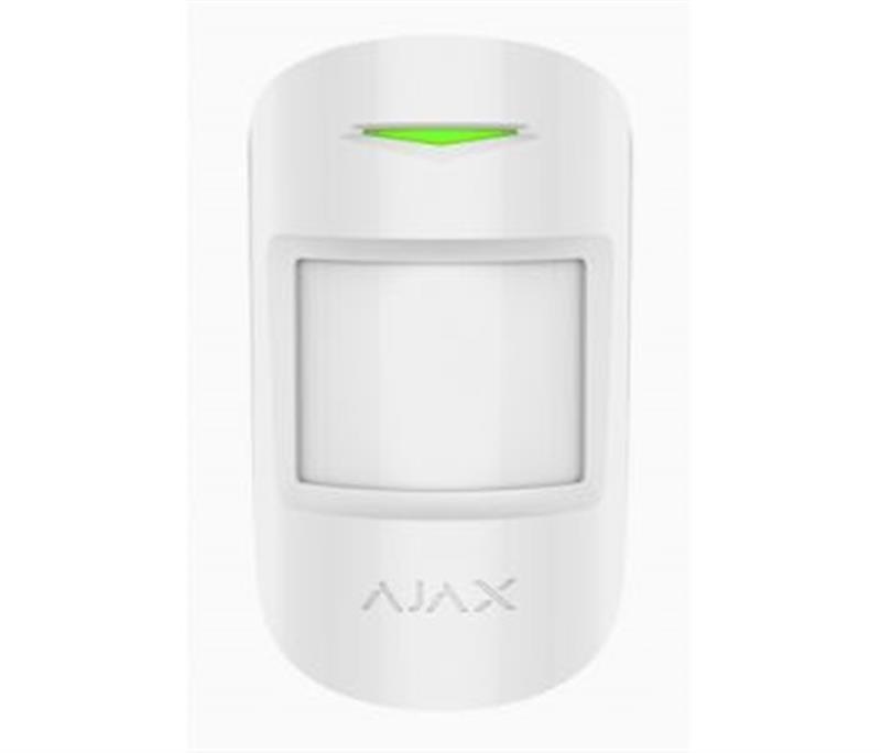 Беспроводной датчик движения и разбития стекла Ajax CombiProtect White (7170.06.WH1)