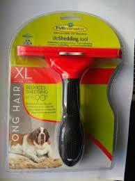 Фурминатор для собак длинношерстных пород 12 см с кнопкой