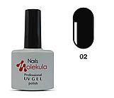 Гель-лак Nails Molekula №2 черный