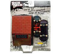 Игровой набор TECH DECK Фингерборд 96 мм. + фигураDGK ORIGINAL (2 мини скейт, отвертка, трамплин-кейс )