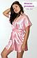 Модный шелковый халат 46-50, фото 8